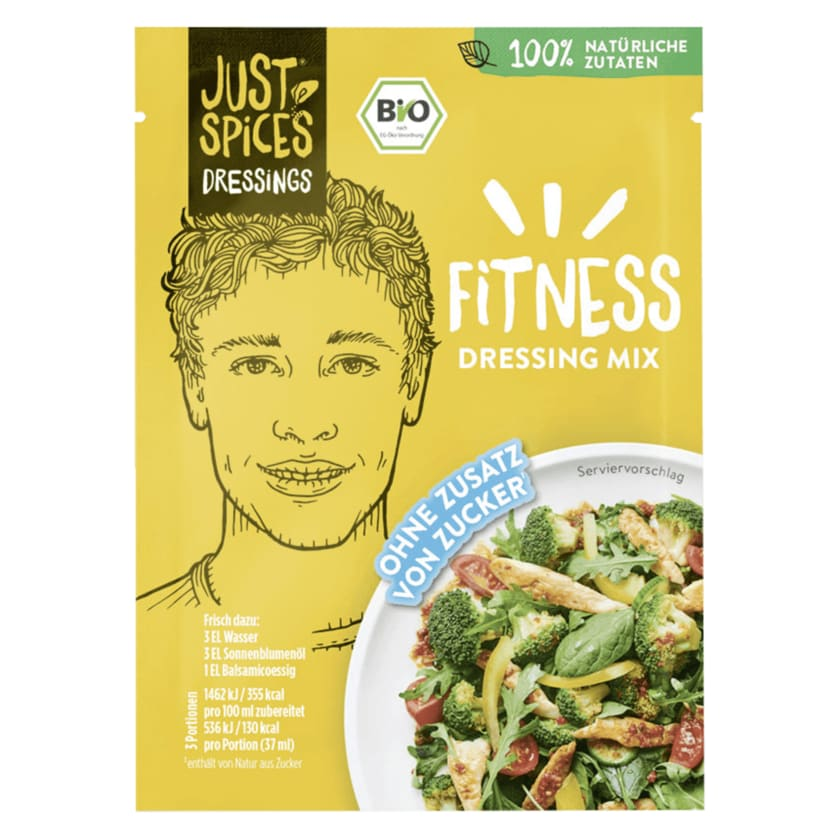 Just Spices Bio Fitness Dressing Mix 24g
