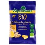 Alpenbauer Bio Bonbons Manuka Honig Ingwer-Zitrone 60g