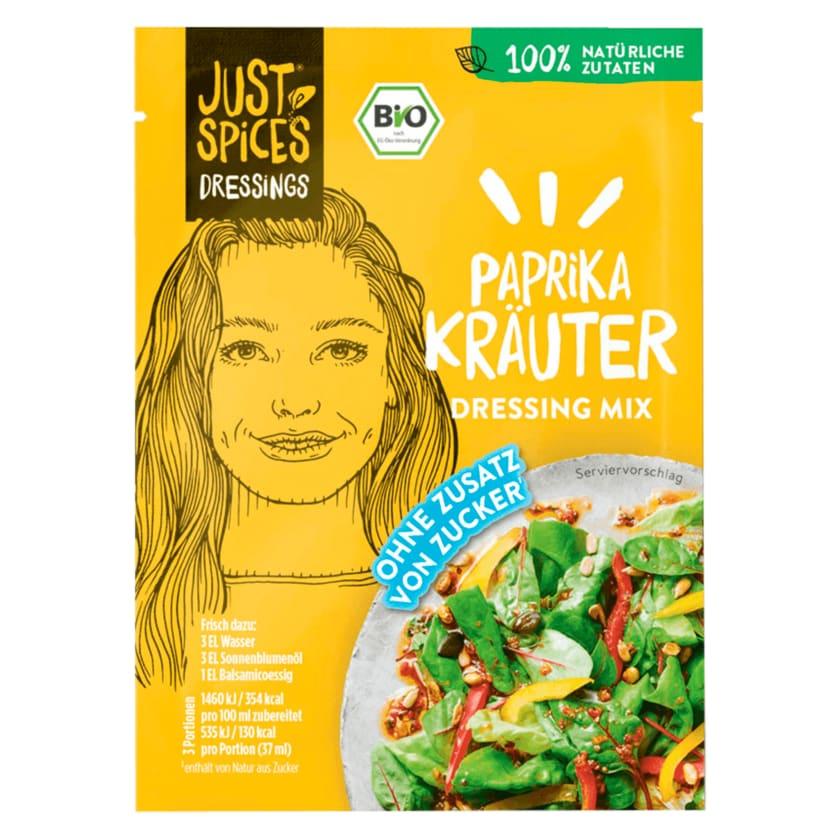 Just Spices Bio Paprika Kräuter Dressing Mix 24g