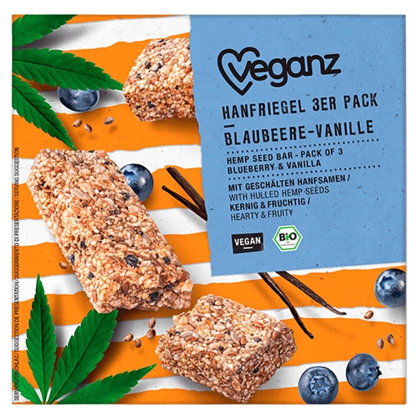 Veganz Hanfriegel Blaubeere-Vanille 3 Stück