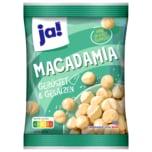 Ja! Macadamia geröstet & gesalzen 125g
