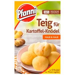 Pfanni Teig für Kartoffelknödel halb & halb 750ml, 12 Stück
