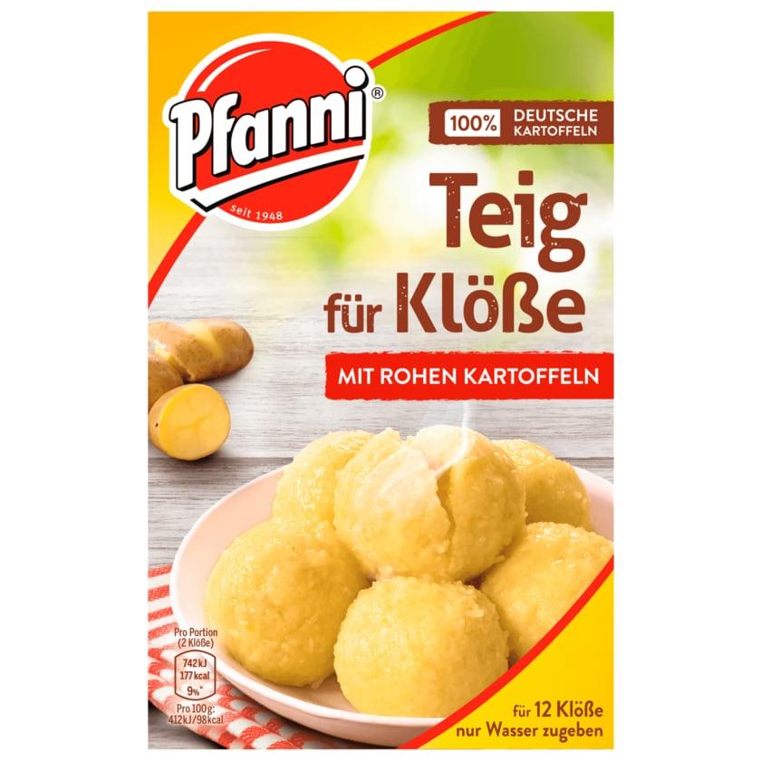 Pfanni Teig für Klöße mit rohen Kartoffeln 750ml