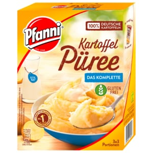 Pfanni Kartoffelpüree das Komplette 1500ml, 3x3 Portionen