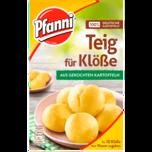 Pfanni Teig für Klöße aus gekochten Kartoffeln 750ml