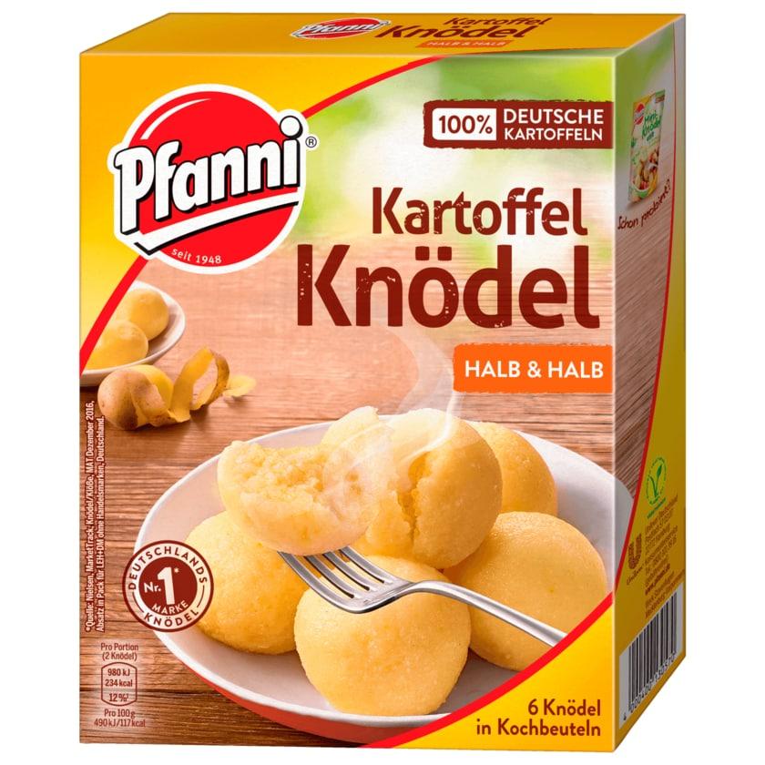 """Pfanni Kartoffelknödel der Klassiker """"Halb & Halb"""" 6 Stück"""