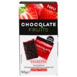 Chocolate Fruits Schokoladentäfelchen Erdbeere 165g