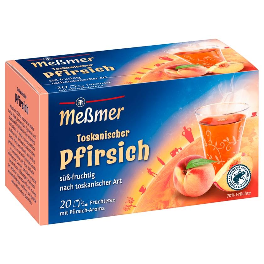 Meßmer Toskanischer Pfirsich 50g, 20 Beutel