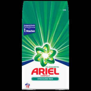 Ariel Compact Vollwaschmittel Pulver 1,425kg, 19WL