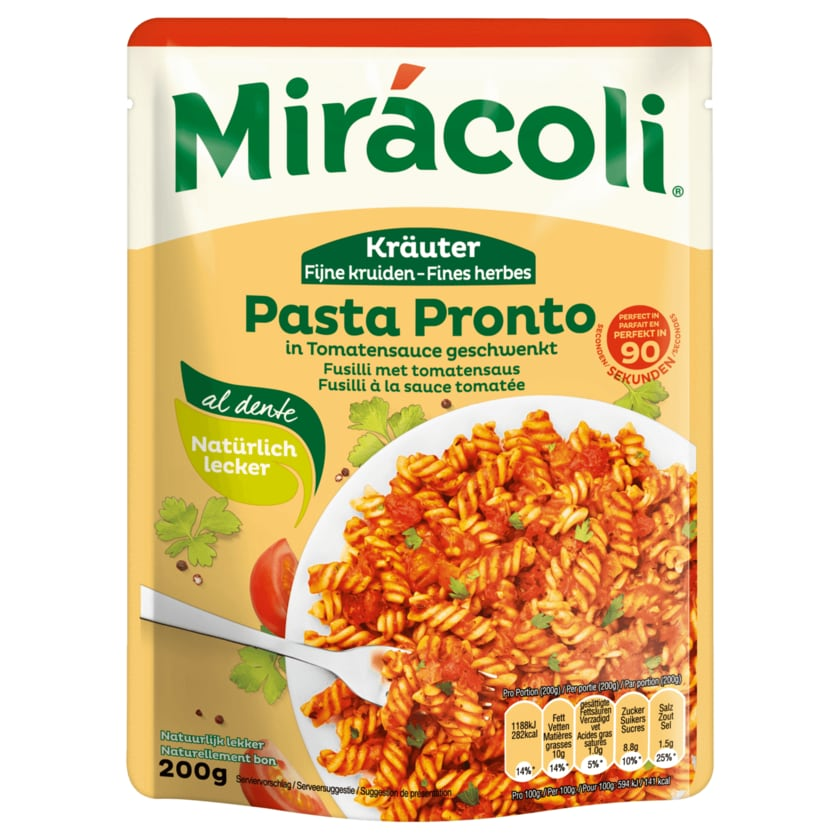Mirácoli Kräuter Pasta Pronto 200g
