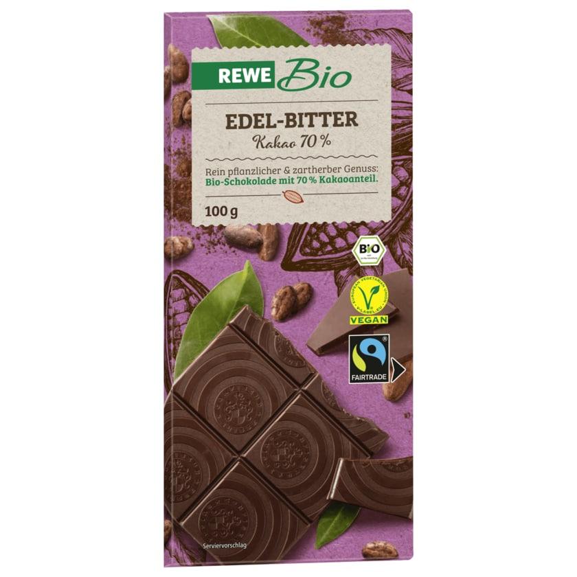REWE Bio Edel-Bitter Schokolade 100g