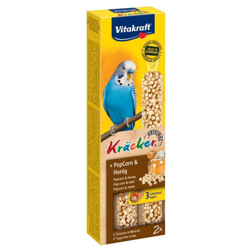Vitakraft Kräcker PopCorn-Honig 2 Stück