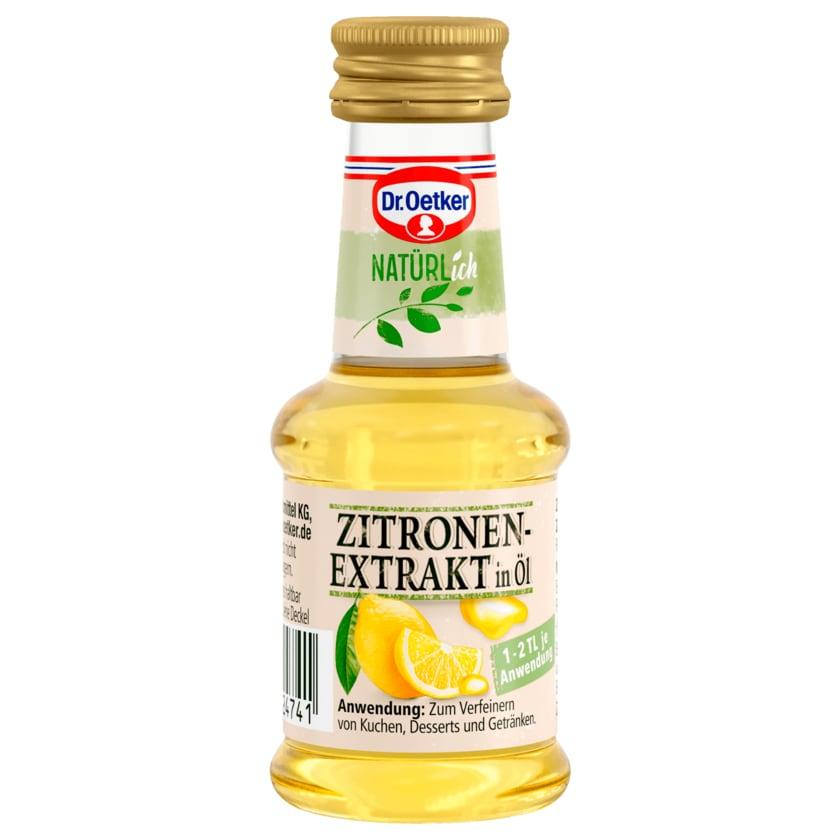 Dr. Oetker Natürlich Zitronenextrakt in Öl 35ml