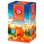 Teekanne frio Classic Eistee Pfirsich 45g, 18 Beutel