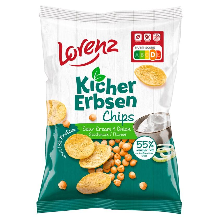 Lorenz Kichererbsen Chips Sour Cream & Onion 85g