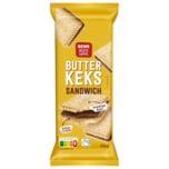 REWE Beste Wahl Butterkeks Sandwich 12 Stück 250g