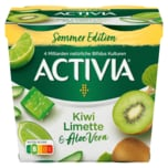 Danone Activia Sommer Edition Kiwi Limette & Aloe Vera 4x115g, 460g