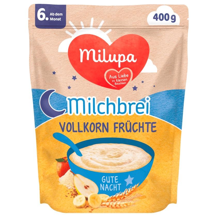 Milupa Milchbrei Vollkorn Früchte 6.Monat 400g