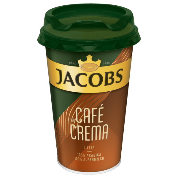 Jacobs Eiskaffee Typ Café Crema Coffee to go 230ml