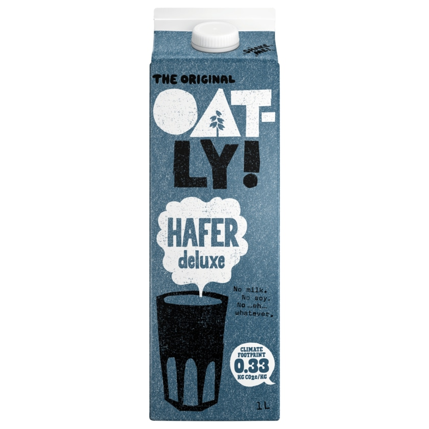 Oatly Haferdrink Hafer Deluxe 1l