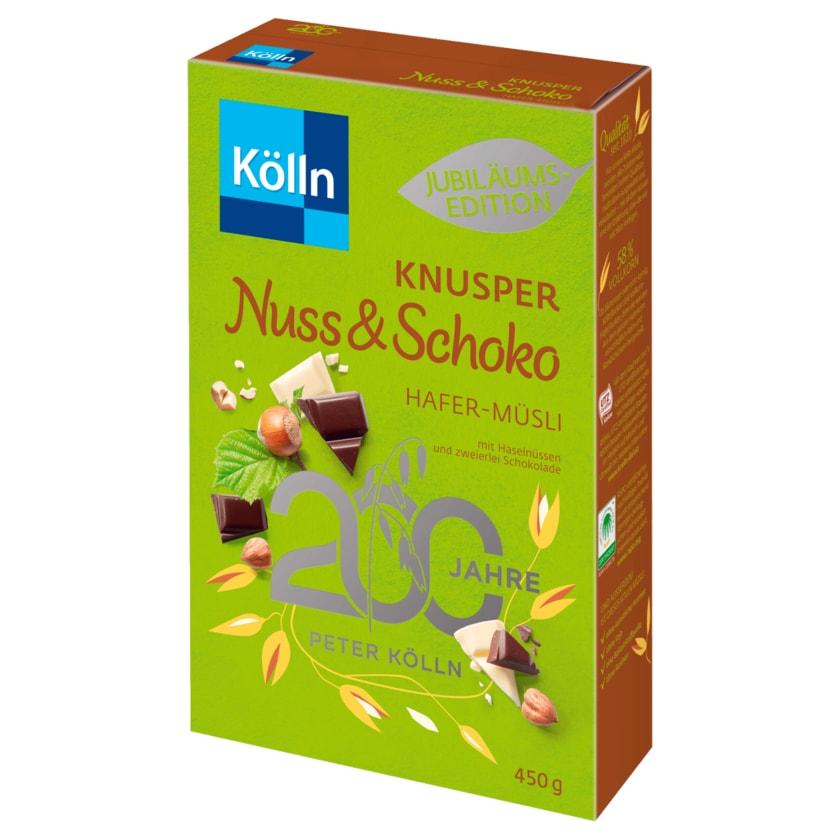 Kölln Knusper Nuss & Schoko Hafer-Müsli 450g