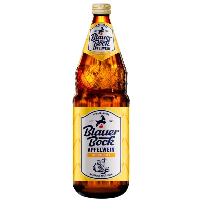 Blauer Bock Apfelwein Natural Cider 1l