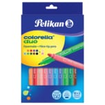 Pelikan Fasermaler Colorella Duo bunt 12 Stück