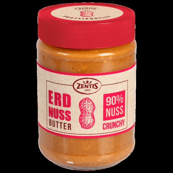 Zentis Erdnussbutter Crunchy 350g
