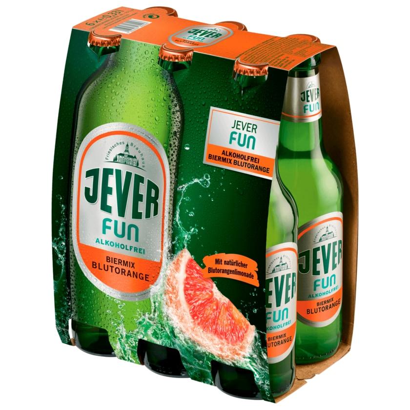 Jever Fun Blutorange alkoholfrei 6x0,33l