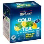 Meßmer Cold Tea Zitrone-Minze 38,5g, 14 Beutel