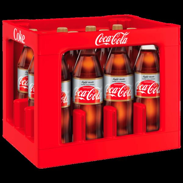 Coca-Cola light taste koffeinfrei 12x1l