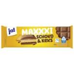 ja! Schokolade Maxxxi Schoko & Keks 300g