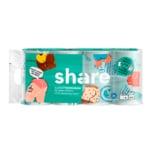 Share Toilettenpapier Recycling 3-lagig 8x200 Blatt