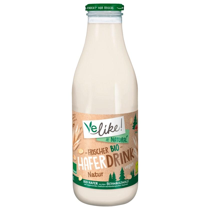 Velike! Frischer Bio Hafer-Drink vegan 1l