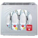 RhönSprudel Mineralwasser Plus Zitrone 12x0,75l
