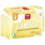 Rewe Beste Wahl Feuchtes Toilettenpapier Kamille 50 Stück