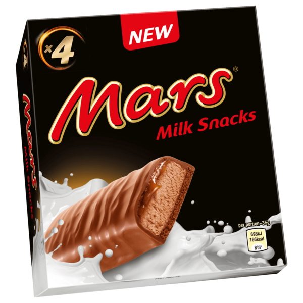 Mars Milk Snacks 4x35g