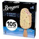 Breyers Blueberry & Vanilla Eiscreme 4x60g