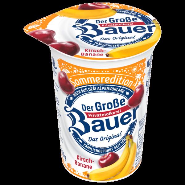 Bauer Sommeredition Kirsch-Banane 250g