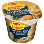 Maggi 5 Minuten Terrine Kartoffelbrei mit Crème fraiche & Schnittlauch 53g