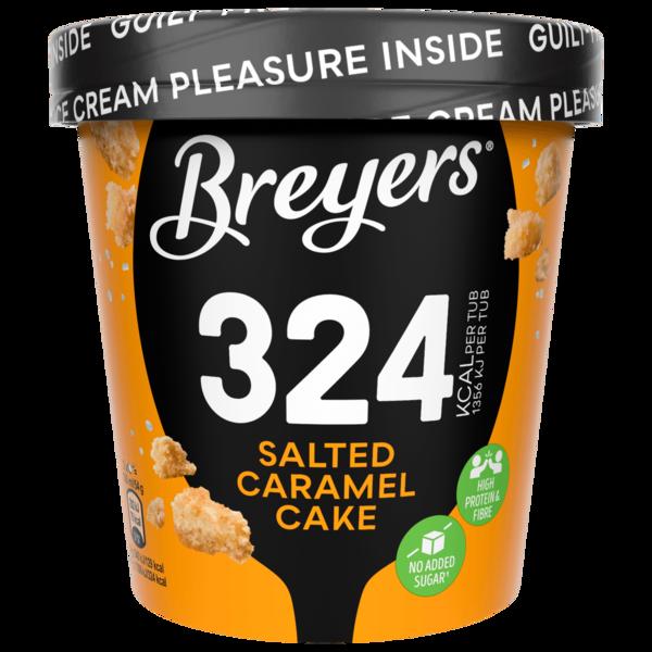 Breyers Salted Caramel Cake Eiscreme 465ml