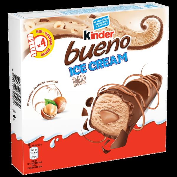 Kinder Bueno Ice Cream Bar 4x45ml