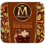 MAGNUM Eis Collection Salted Caramel & Glazed Almonds 3 x 90 ml