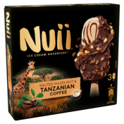 Nuii Salted Hazelnut & Tanzanian Coffee 3x90ml