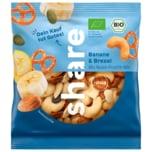 share Bio Nuss-Frucht-Mischung Banane & Brezel 50g