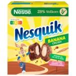 Nestlé Nesquik BananaCrush schokoladige Frühstücks-Cerealien mit Vollkorn 350g