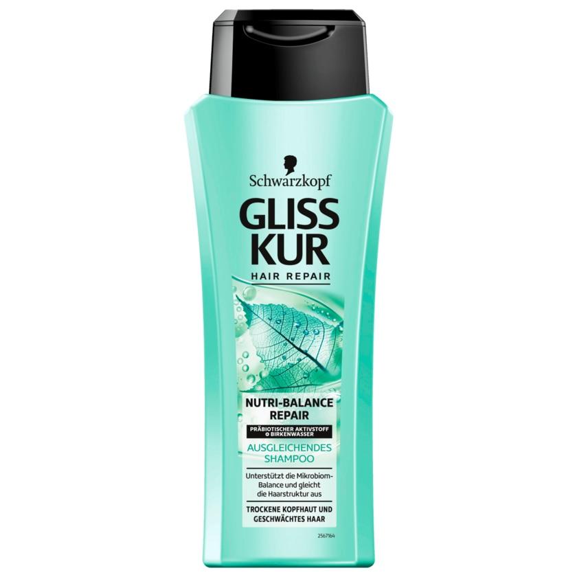 Gliss Kur Shampoo Nutri-Balance Repair 250ml