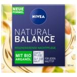 Nivea Natural Balance Regenerierende Nachtpflege Arganöl 50ml