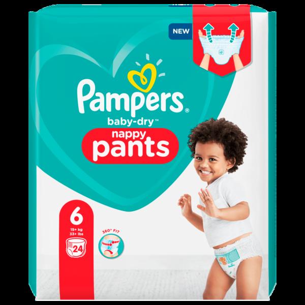 Pampers Baby Dry Pants Gr.6 15+kg 24 Stück