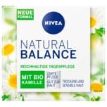Nivea Natural Balance mit Bio Kamille Reichhaltige Tagespflege 50ml